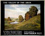 'The Valley of the Arun', SR poster, 1923-1947.