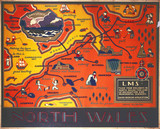 'North Wales', LMS poster, 1923-1947.