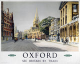 'Oxford', BR (WR) poster, 1958.