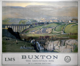 'Buxton, the Mountain Spa', LMS poster, 1924.