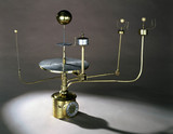 Large orrery with eight-day clock, 1733.