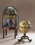 Celestial and terrestrial globes, 1766.