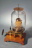 Bell in vacuo demonstration, 1761.