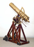 Portable reflecting telescope, c 1767.