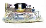 'Mr Gurney's steam carriage', 1827.