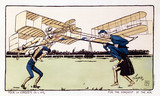 'For the Conquest of the Air', 1908.