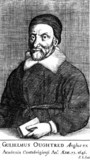 William Oughtred, English mathematician, 17th century.