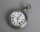 Roskopf patent pocket watch, c 1887.