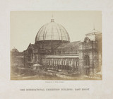'The International Exhibition Building, East Front', London, 1862.
