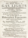 'The direful effects of gas lights... ', 1808.