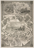 'McGahey's Lithography', c 1850.