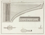 Diagrams illustrating harpsichord tuning mechanisms, c 18th century.