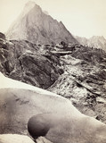 The Ice Cave in the Rosenlaui Glacier, Switzerland, c 1850-1900.
