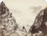 View from Mount Sinai, Egypt, c 1850-1900.