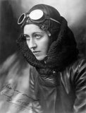 Amy Johnson, British aviator, c 1930s.