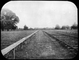 Launch track for Maxim's flying machine, Baldwin's Park, Kent, 1893-1894.