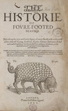 Title page to 'The Historie of foure-footed beastes', 1607.