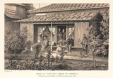 'House at Yedo, with Group of Japanese', Japan, 1858.