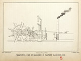 Perspective view of machinery in Fulton's 'Clermont', 1807.