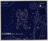 The constellation of Coma (the Desired), 1895.