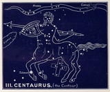 The constellation of Centaurus, 1895.
