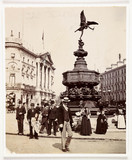 Piccadilly Circus, c 1900.