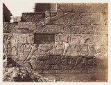 Ancient Egyptian relief, 1883.