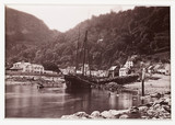 'Lynmouth, The Village From the Sea, No. 1', c 1880.