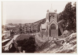 'Barmouth, St. John's Church and Belle Vue', c 1880.
