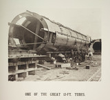 'One Of The Great 12-Ft. Tubes', 1885.