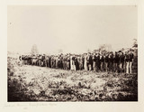 'Confederate Prisoners, Fairfax Courthouse, Virginia, 1862'.