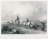 'Indians Travelling', North America, 1847.