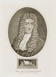 Robert Boyle, Irish physicist and chemist, 17th century.