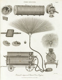 'Bramah's improved Patent Fire Engine', 1805.