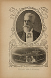 'Sir Hiram Maxim and his Machine', 1902.