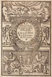 Frontispiece of an alchemy book, 1657.