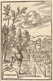 Digging, hoeing and harvesting, 1657.