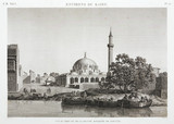 Port and Great Mosque of Boulaq, Cairo, Egypt, c 1798.
