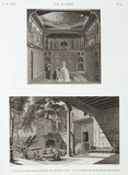 """Two examples of Islamic architecture, Cairo, Egypt, c 1798."""