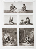 """Textile and wood workers, Egypt, c 1798."""