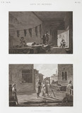 """Dye works and rope-making, Egypt, c 1798."""