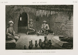 Potter's workshop, Egypt, c 1798.