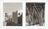 """Two views of Alexandria, Egypt, c 1798."""