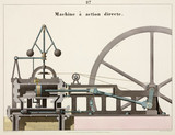 Direct action machine, 1856.