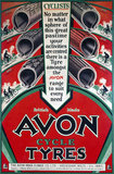 """'Avon cycle tyres', c 1930s."""