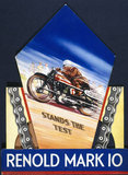 """'Renold Mark 10', motorcycle chain, poster, c 1930s."""