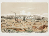 Zinc mine, Neutral Moresnet, 1855.