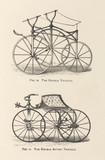 'The Double Tricycle' and the 'The Double Action Tricycle', 1869.