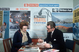 A British Rail travel centre, April 1964.