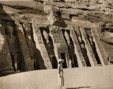 View of Abu Simbel, Nubia, 13 January 1936.